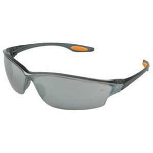 Blue Frame Safety Spectacles - Orange Tips