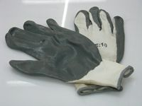 PVC Dipped Grey Cotton Gloves
